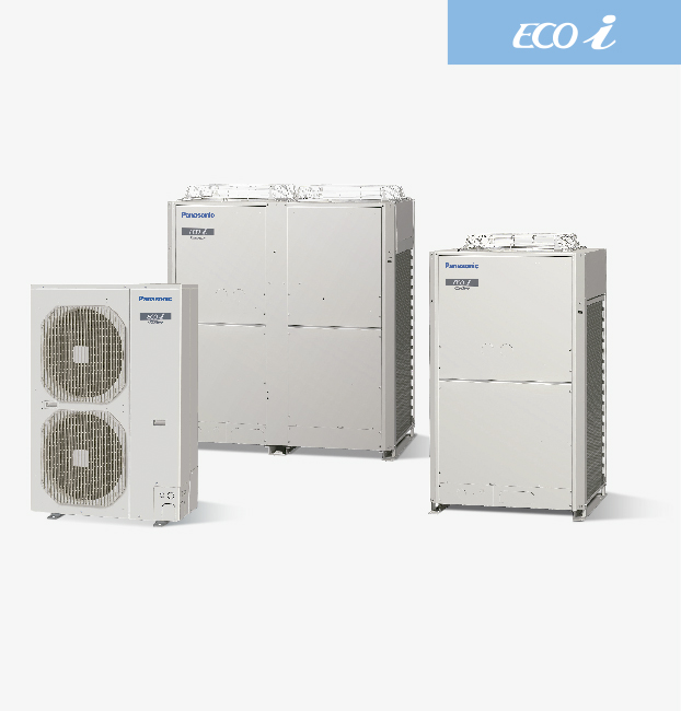 Ecoi vrf systems panasonic heating and cooling systems for New and innovative heating and cooling system design