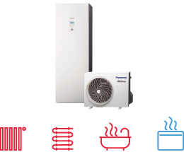 Commercial - Panasonic - heating and cooling solutions