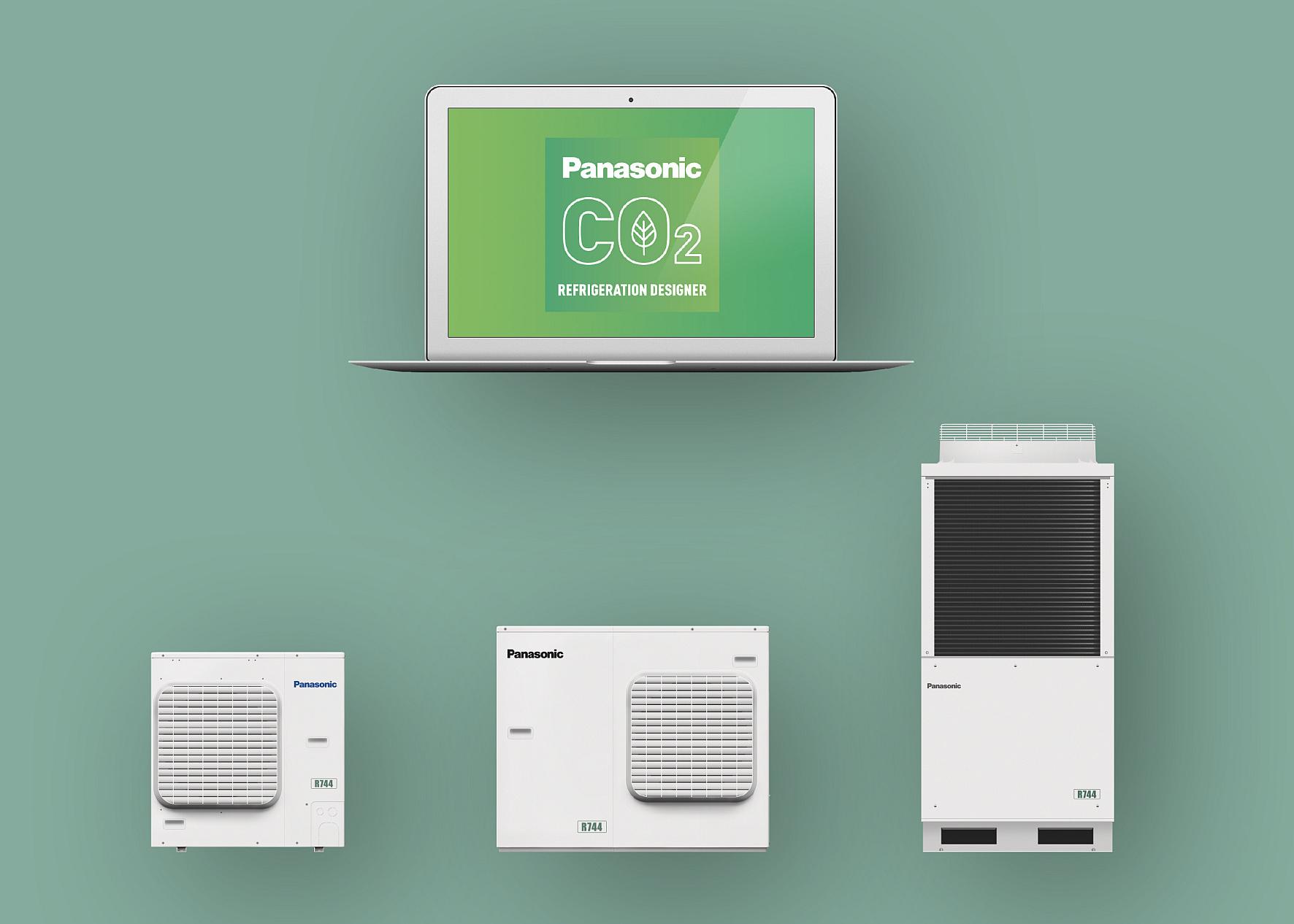 Panasonic Berechnungsprogramm für CO2-Verflüssigungssätze