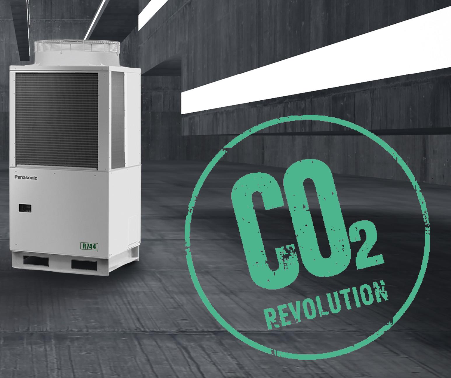 CO2-Kälteanlagen zur Normal- und Tiefkühlung lassen sich mit dem neuen 16 kW Verflüssigungssatz von Panasonic realisieren.