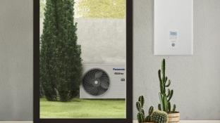 Panasonic forbedrer effektiviteten på luft til vand-serie