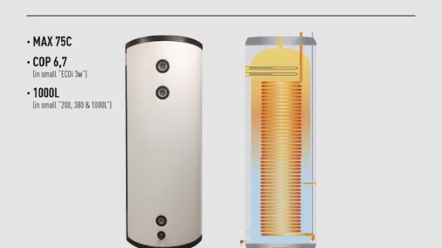 Optimér energiforbruget med Panasonics nye PRO-HT-tank