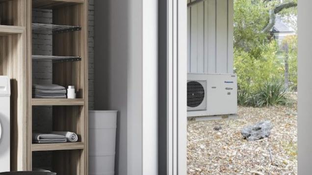 Panasonic lanserer kompakt og plasseffektiv varmepumpe