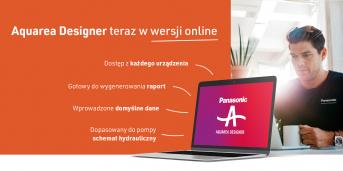 Nowość! Program doboru pomp ciepła Aquarea Designer w wersji online