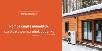 Pompa ciepła monoblok, czyli cała pompa obok budynku
