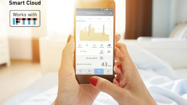 Panasonic's Aquarea Smart Cloud lanseras med IFTTT
