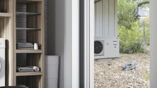 Panasonic lanserar värmepump för trånga utrymmen