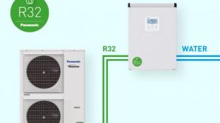 Panasonic lanserar ny värmeväxlare för grön, kommersiell drift