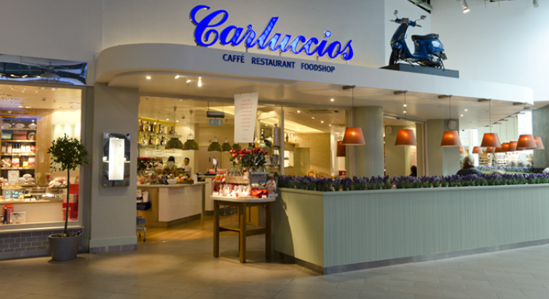 Carluccios Restaurant Panasonic Heating And Cooling