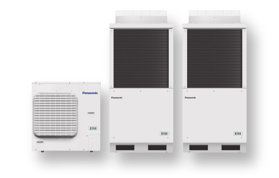 Panasonic condensing units with natural refrigerant - Panasonic Heiz