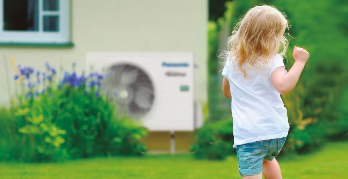Aquarea air to water heat pump - Panasonic - heating and